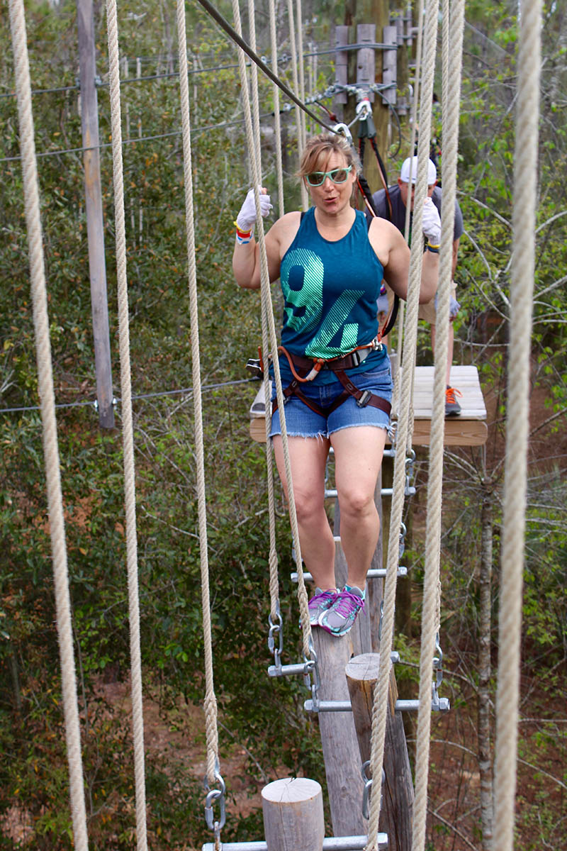 Adventures in Orlando Ziplines
