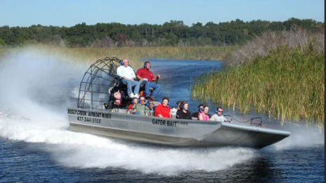 Boggy Creek Airboat Rides Orlando Florida
