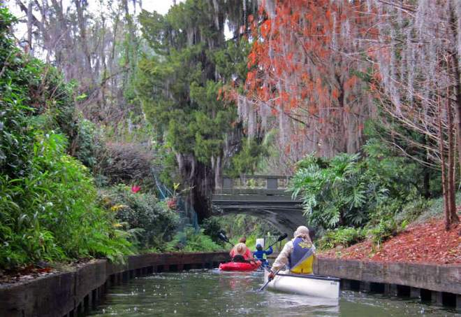 Kayaking Winter Park Chain Of Lakes